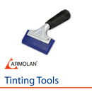 Blue Armolan Squeegee With Handle