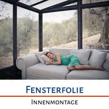 Fensterfolien, Sonnenschutzfolien, Innenmontage